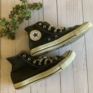 High-top Converse All-star